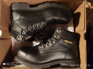 Brahma steel toe boots size 10. 5 for Sale in Cleveland, TX