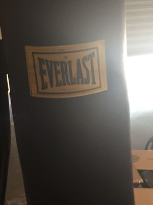 Everlast punching bag with stand for Sale in Las Vegas, NV