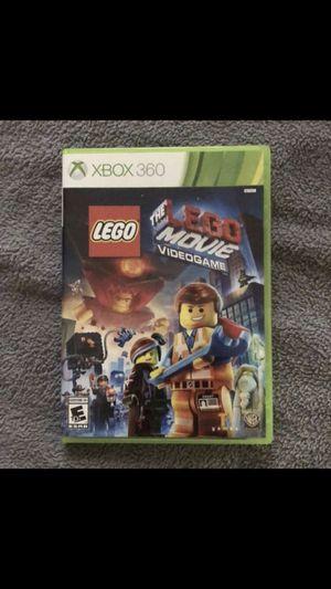 The LEGO Movie Xbox 360 game for Sale in Wyandotte, MI
