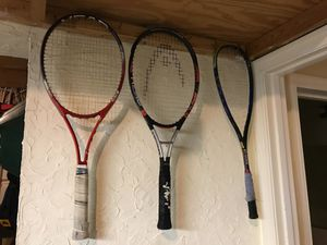 Various racquets for Sale in McLean, VA