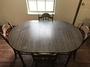 Dining Room Kitchen Table with Four Padded Chairs for Sale in Columbus, OH