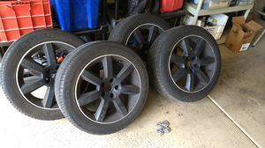 Rims and Tires 17inch for Sale in Las Vegas, NV