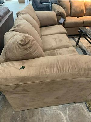 $39 Down Payment Best DEAL 🍾 SPECIAL] Darcy Mocha Living Room Set SAME DAY DELIVERY for Sale in Jessup, MD
