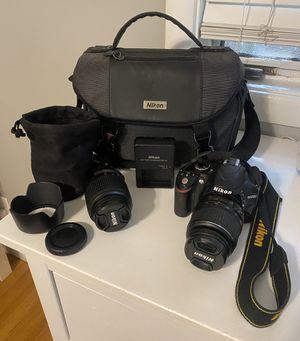 Nikon D3200 Camera Bundle for Sale in Sacramento, CA