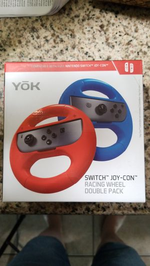 Nintendo Switch Joy-Con Racing Wheel Double Pack for Sale in Richland, WA