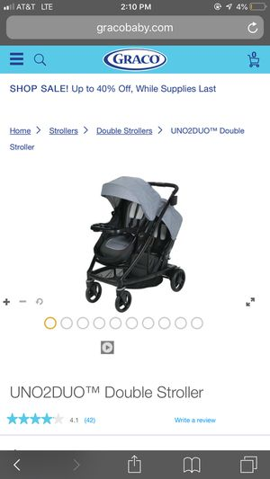 Graco Double stroller with a two toddler seat brand new sealed for Sale in Portland, OR