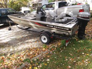 1997 bas tracker pro 16 25 up evan for Sale in Frankton, IN