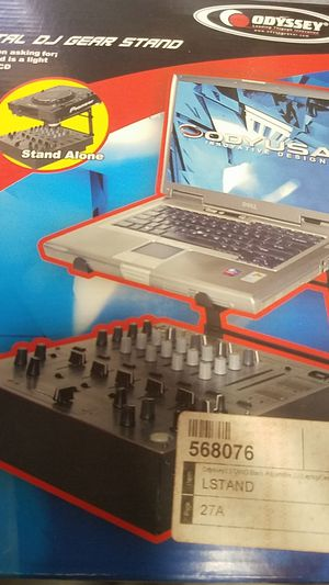 Dj laptop stand new in box for Sale in Upland, CA
