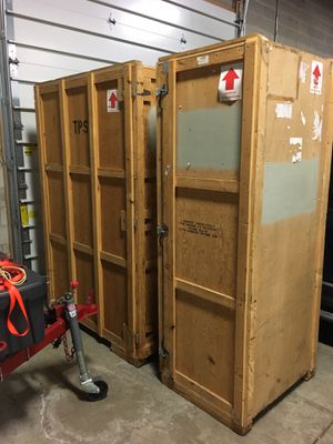 Wood Shipping / Storage Containers for Sale in Grosse Pointe Park, MI