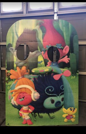 Trolls photo booth prop - Great for parties for Sale in Las Vegas, NV