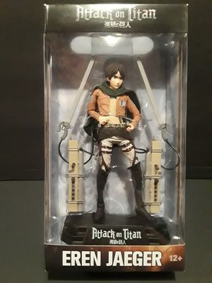 Attack on Titan Eren Jaeger 6 inch action figure. for Sale in Gresham, OR