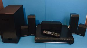 Panasonic SA-PT760 5-disc DVD Home Theatre System With Built In IPOD Dock Kelton Subwoofer HDML for Sale in Scottsdale, AZ