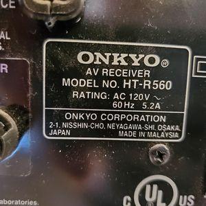 Onkyo receiver And Speakers for Sale in Virginia Beach, VA