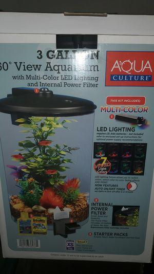 360° 3 Gallon Aquarium for Sale in Norcross, GA