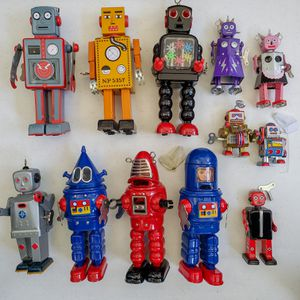 12 Vintage Wind-Up Robots for Sale in Seattle, WA