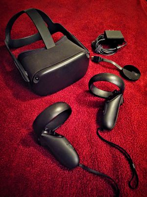 Oculus Quest 128 gb with Google Chromecast Ultra Used like New for Sale in Hawaiian Gardens, CA