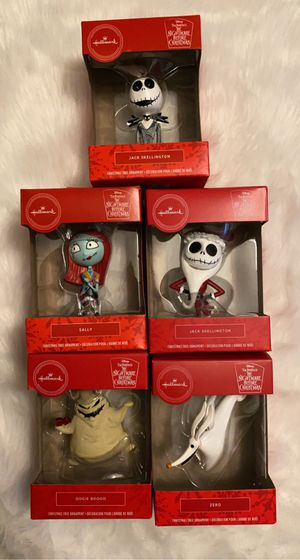 Nightmare before Christmas ornaments for Sale in Ontario, CA