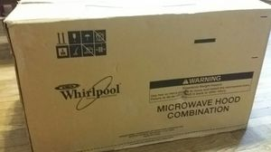 Whirlpool microwave hood combo for Sale in Boyds, MD