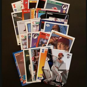 (50) Philadelphia Phillies ROOKIE Cards for Sale in Cherry Hill, NJ