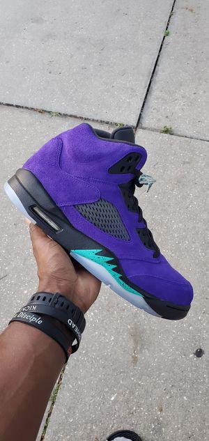 """Nike Air Jordan 5 """"Alternate Grapes"""" for Sale in Riverview, FL"""