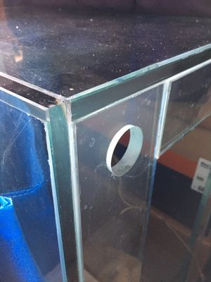 90 g Custom Glass Fish Tank, 48x18x24 tall for Sale in Wenatchee, WA