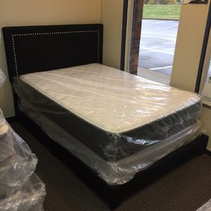 Full Size Mattress Set & Bed Frame for Sale in Florissant, MO