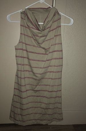 """NEW """"PATAGONIA"""" RED STRIPE SLEEVELESS CREE NECK TUNIC for Sale in Denver, CO"""