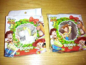 2009 Mattel Disney Pixar * holiday wreath * Toy Story 3 Buddy Figures * hangs on Christmas tree for Sale in Washington, DC