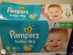 Pampers Diapers for Sale in GILLEM ENCLAVE, GA