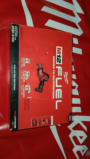 Milwaukee M12 FUEL Hackzall Recip Saw Kit (NEW) for Sale in San Diego, CA