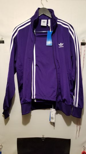 Adidas track jacket size medium for Sale in Seattle, WA