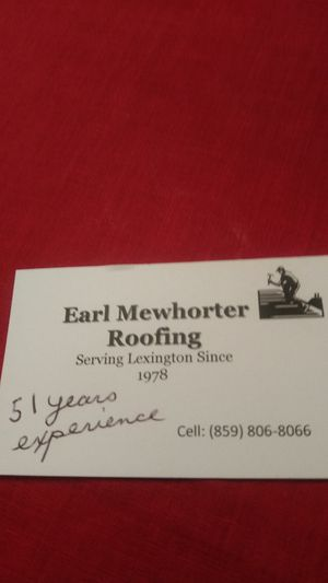 Repairs tear offs or roof overs complete roofing services for Sale in Lexington, KY
