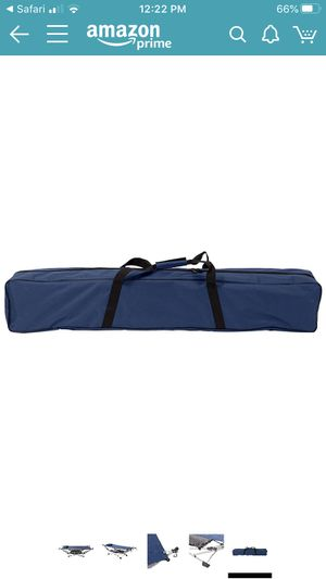 Portable folding hammock and stand with carrying case, underneath storage & pillow, for Sale in Fairhope, AL