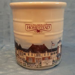 Longaberger Pottery Homestead Crock Canister for Sale in Batavia, IL