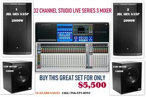 SOUND SYSTEM / MIXER & SPEAKERS/ SUBWOOFERS for Sale in Orlando, FL