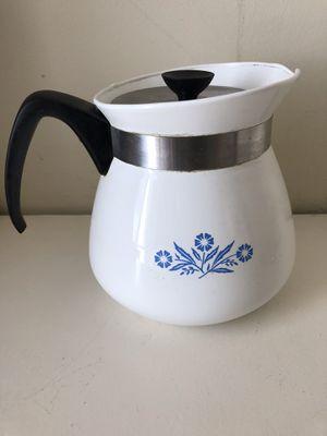 Pyrex Cornflower 2 Qt Coffee Tea Pot for Sale in Huntington Beach, CA