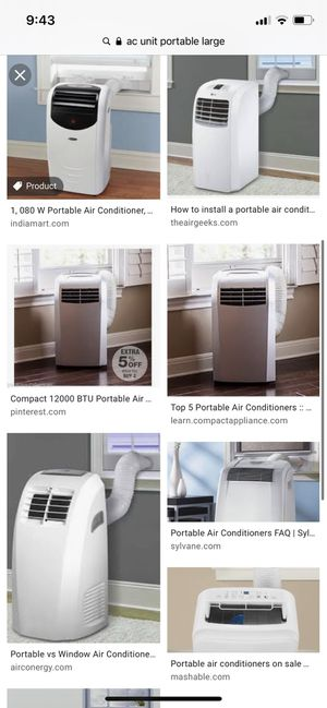Brand new high end AC unit portable for large room or living room for Sale in Sunnyvale, CA