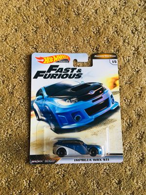 Hot Wheels Fast and Furious Subaru Impreza WRX STI for Sale in Irvine, CA