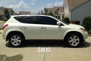 Looks Good 2OO3 Nissan Murano 4WDWheels! for Sale in Denver, CO
