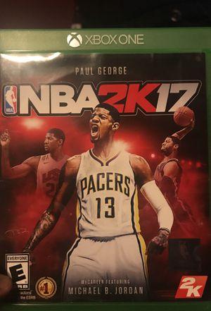 Brand new NBA 2K17 for Xbox one for Sale in Alexandria, VA
