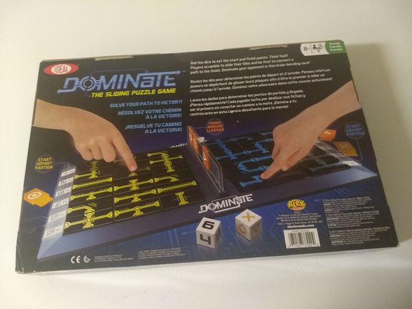 Dominate - The Sliding Puzzle Game NEW IN BOX! FACTORY SEALED