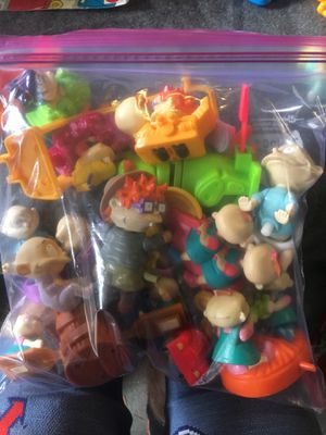Rug rats miscellaneous toys zip locked for Sale in Torrance, CA