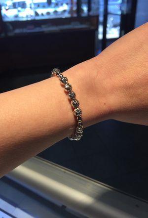 """18K Italian """"Diamond Cut"""" Bracelets (Size 6inch) for Sale in Philadelphia, PA"""