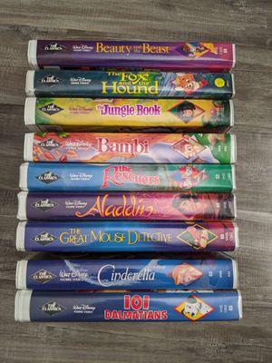 Disney Black Diamond VHS tapes for Sale in Fontana, CA