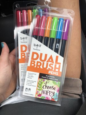Tombow dual brush pens NEW for Sale in Columbia, CT