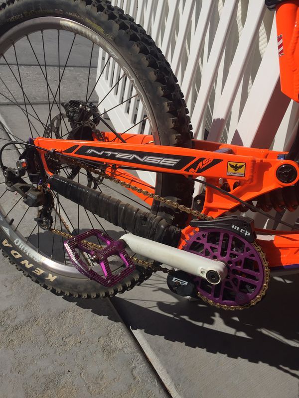 Intense downhill bike