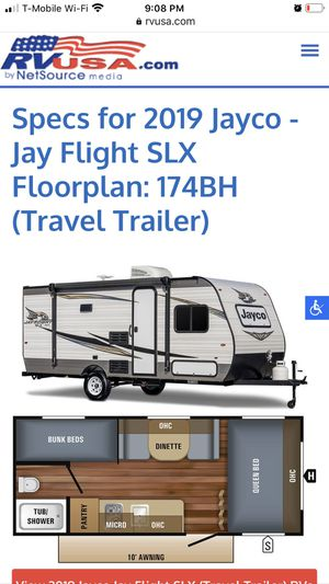2019 Jayco Baja SLX 174 Bunkhouse travel trailer for Sale in North Bend, WA