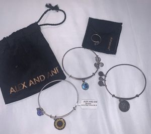 Alex and Ani Bracelets and Ring for Sale in Anaheim, CA