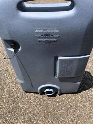 RV/Camper 25 Portable Waste Water Tank for Sale in Batavia, OH
