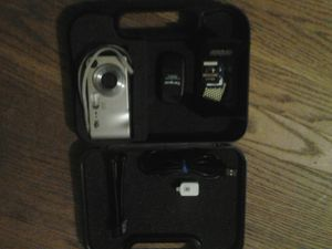 digital camera with 3 sd cards, stand, cords for upload to or from phone or computer for Sale in Havelock, NC
